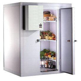 Tiefkühlzelle / Kühlzelle 100er Wandstärke 2500mm Höhe Maße: 1440x1740x2500mm
