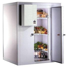 Tiefkühlzelle / Kühlzelle 100er Wandstärke 2500mm Höhe Maße: 1740x1440x2500mm