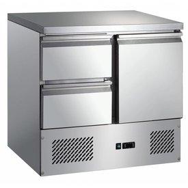GGG Kühltisch 1 Tür & 2 Schubladen 257 Liter