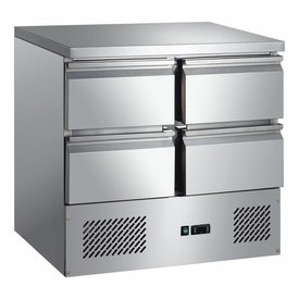 GGG Kühltisch 4 Schubladen 257 Liter