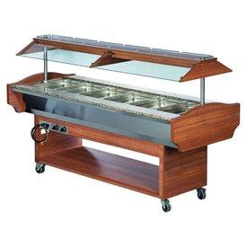 Gastro Buffet HOT GN 6/1 -  ohne Behälter