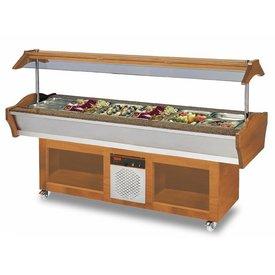 Gastro Buffet Salatbar GN 6/1 - ohne Behälter