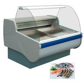 Fischkühltheke +1° / +10°C  // Maße: 2550 x 1165 x 1230 mm