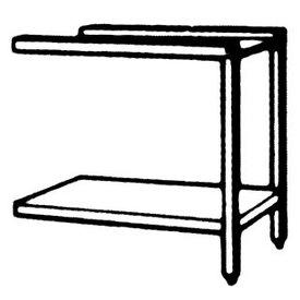 Zu- und Ablauftisch rechts mit Grundboden und Untergestell   630 x 520 x 865 mm