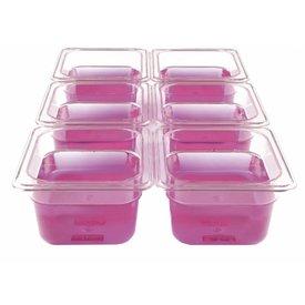 Gastronomiebehälter Kunststoff 1/6  176 x 162 x   65 mm