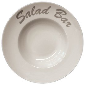 Pasta-/Salatteller  aus robustem Porzellan Ø 280 mm