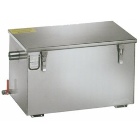 GGG Kompakter Fettabscheider   Schlammfang: 52 Liter Fettabscheideraum: 132 Liter