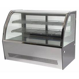 GGG Edelstahl Kühltheken 145 Liter Maße: 900 x 530 x 730 mm
