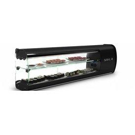 Neumärker  Kühlvitrine Sushi Slim 1350 x 240 x 390 mm