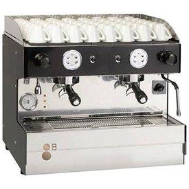 Espressomaschine 2-gruppig kompakt