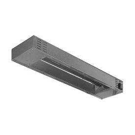 GGG Heizeinsatz Infrarot für Aufsatzborde ∙ installierbar unter den Arbeitsflächen, CNS 18/10 Maße: 1800 x 160 x 70 mm, 1500 W