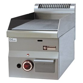 Diamond  Gas Grillplatte, glatt -Top-