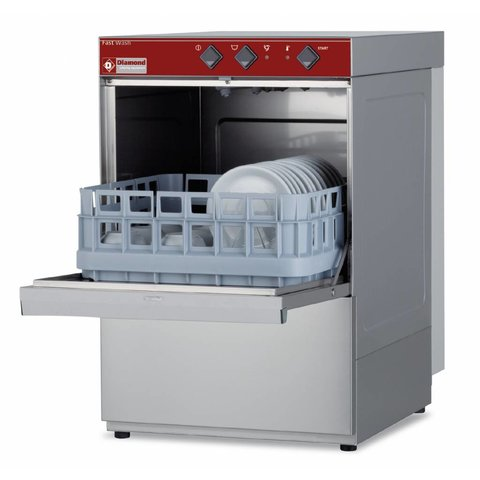 Gläserspülmaschine Korb 400x400 mm 230 V