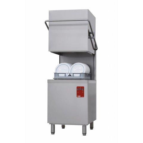 Durchschubspülmaschine, Korb 500x500 mm