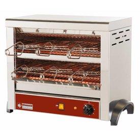 Diamond  Quarzröhren Toaster mit 6 Zangen
