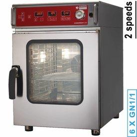 Diamond  Elektro Ofen Dampf/Konvektion programmierbar 6x GN2/3