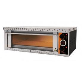 gastro-performance Elektropizzaofen Für 4 x 25 cm Pizzen Made in Germany