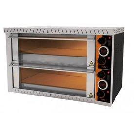 gastro-performance Elektropizzaofen für  8 x 25 cm Pizzen Made in Germany