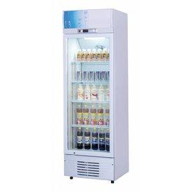 Flaschen Display Kühlschränke - mit Glastüren  238 Liter
