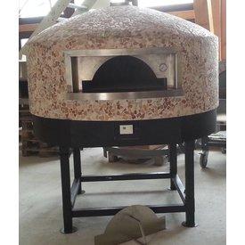 Holz Pizza Ofen Forni Ceky granvolta Backfläche 120cm
