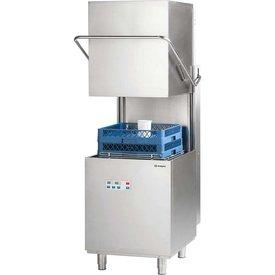 stalgast Haubenspülmaschine Digital Power mit Reinigerdosier-, Ablauf- und Drucksteigerungspumpe