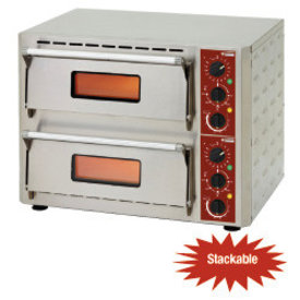 Diamond  Elektro Pizzaofen, 2 Kammern (3 +3 kW)