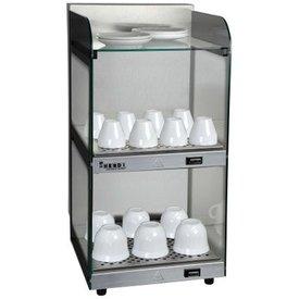 Tassenwärmer Hält bis zu 18 Kaffeetassen oder 32 Espressotassen warm