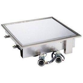 AFG Bratplatte mit glatter Stahlplatte