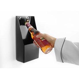 Flaschenöffner mit Auffangbehälter