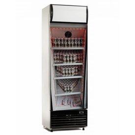 Flaschenkühlschrank 350 Liter Mit Glastür