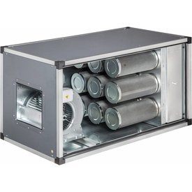 Abluftreinigungs- und desodorierungsanlage, Fordervolumen m3/h: 1400