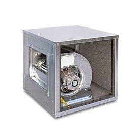 Inox Air Airbox, Motor im Luftstrom 4400 m³/h