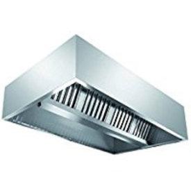 Inox Air Deckenhaube, Kastenform 1800x1200x450mm