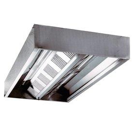 Inox Air Deckenhauben, Kastenform 1600x1500x455mm