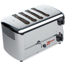 """Diamond  Elektro Toaster, 4 Scheiben """"Silver"""""""