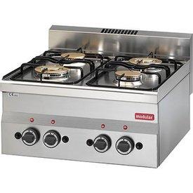 Modular Gasherd 4 Flammen Tischgerät