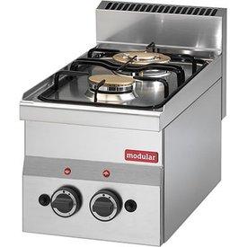 Modular Gasherd 2 Flammen Tischgerät