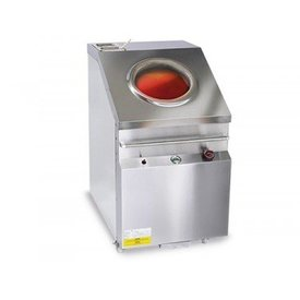 Gastro Gas Tandoori-Ofen - 715x1225mm (Edelstahl)