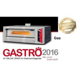GMG Pizzaofen Gastro Hornos Gas 6x30mm Pizzen