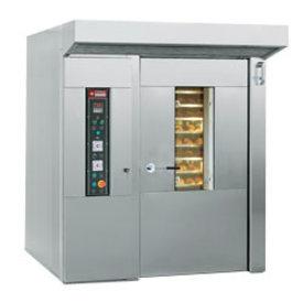 Diamond  Konvektionsofen für Bäckerei und Konditorei, rotierend, 15 oder 18 Ebenen (600 x 800 mm)