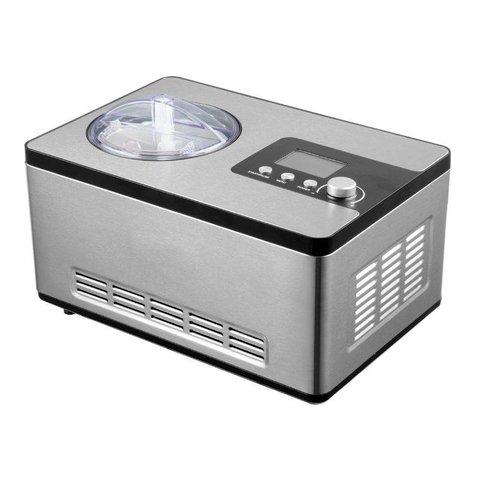 Eismaschine 2 Liter, silber