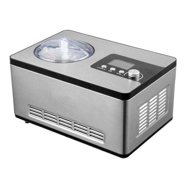 GGG Eismaschine 2 Liter, silber