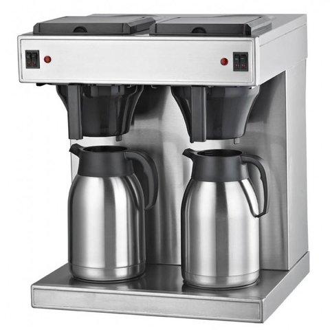 Filterkaffeemaschine ( Sonder -  Angebot )  2x2 Liter mit Thermoskannen