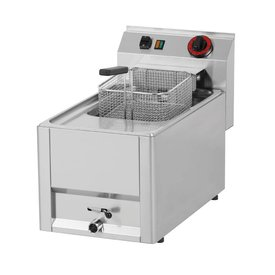 Elektro Fritteuse 1x 8 Liter Becken Serie 600