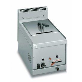 Gas Fritteuse 1x 8 Liter Becken Serie 600