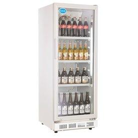 Flaschenkühlschrank 230 Liter Mit Glastür