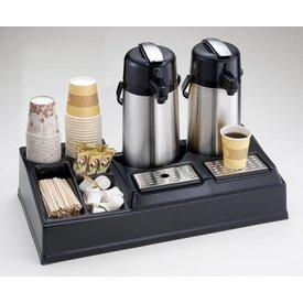 Doppelte Kaffeestation