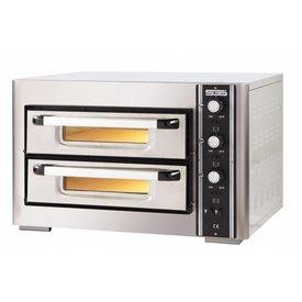 Pizzaofen 400 Volt,für 4 + 4 Pizzen Ø 250 mm