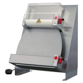 Pizza-Ausrollmaschine für Pizzateig 200 g bis 600 g.
