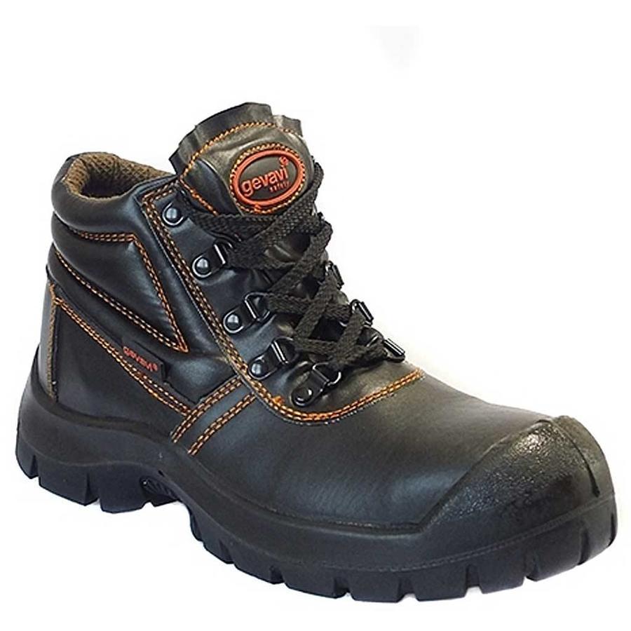 GS12 Werkschoenen Zwart S3